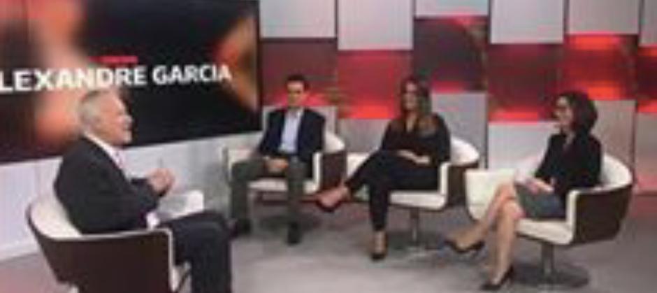 Imagem do post: Globo News com Alexandre Garcia