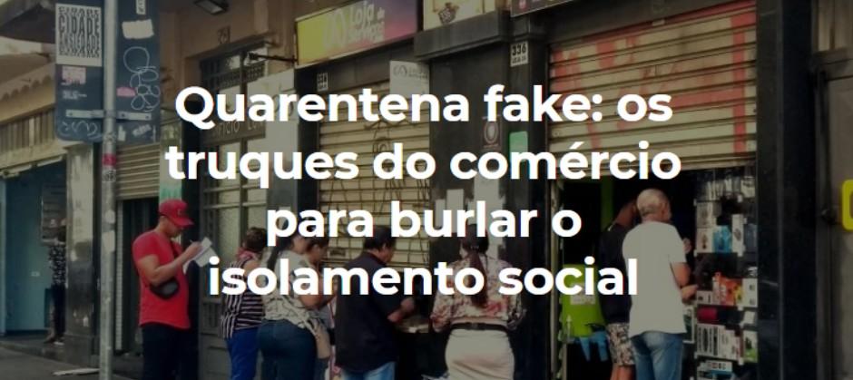 Imagem do post: Quarentena fake: os truques do comércio para burlar o isolamento social