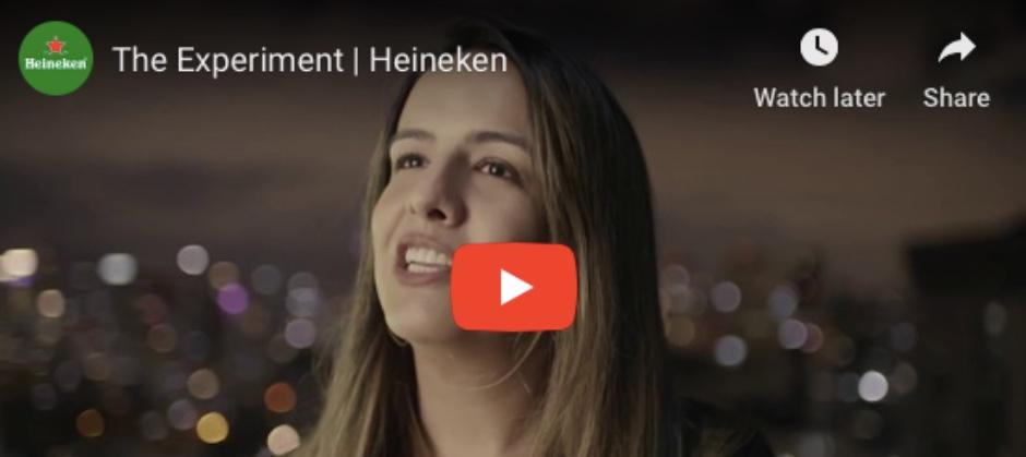 Imagem do post: The Experiment Heineken